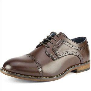 Bruno Marc Boy's Classic Oxfords Dress Shoes